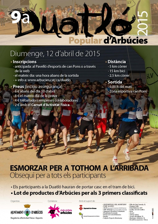9a Duatló popular d'Arbúcies